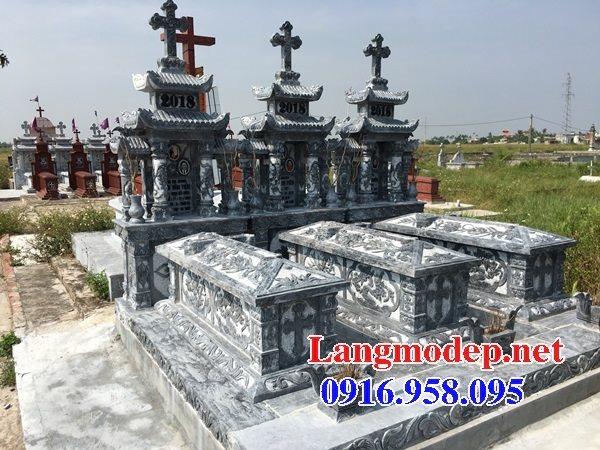 Bán các kiểu mẫu mộ công giáo bằng đá đẹp 03