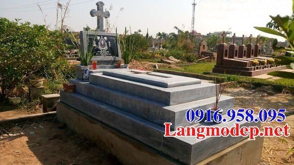 Bán các kiểu mẫu mộ công giáo bằng đá đẹp 04