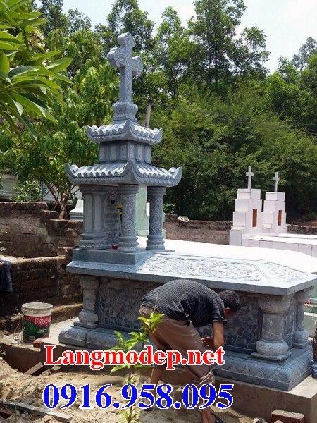 Bán các kiểu mẫu mộ công giáo bằng đá đẹp 09