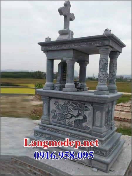 Bán các kiểu mẫu mộ công giáo bằng đá đẹp 10