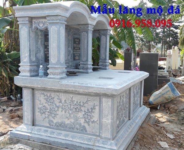 Lăng mộ đá đôi đẹp giá rẻ bán toàn quốc 09