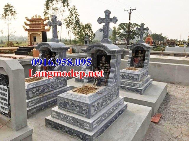 Mẫu lăng mộ đá công giáo đẹp bán toàn quốc 03