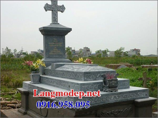 Mẫu lăng mộ đá công giáo đẹp bán toàn quốc 04
