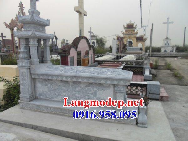 Mẫu lăng mộ đá công giáo đẹp bán toàn quốc 07