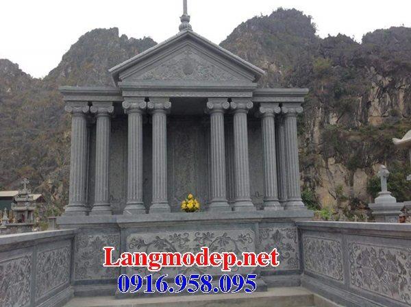 Mẫu lăng mộ công giáo bằng đá bán toàn quốc 02