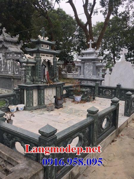 Mẫu lăng mộ công giáo bằng đá bán toàn quốc 03