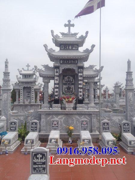 Mẫu lăng mộ công giáo bằng đá bán toàn quốc 04