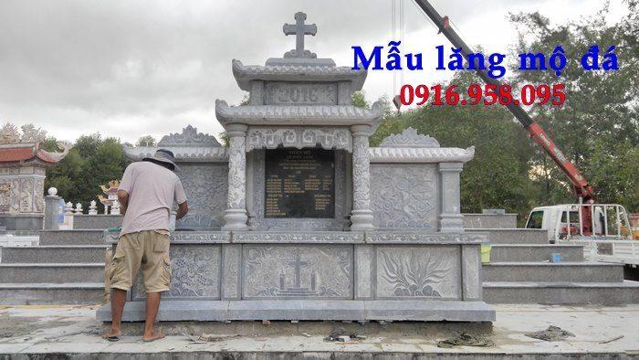 Mẫu lăng mộ công giáo bằng đá bán toàn quốc 09
