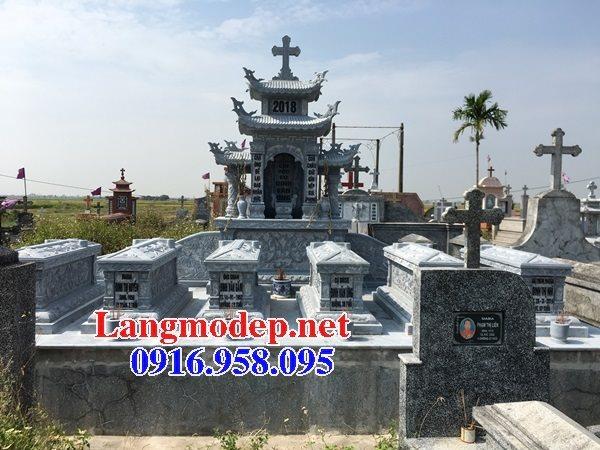 Mẫu lăng mộ công giáo bằng đá bán toàn quốc 10