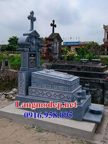 Mẫu lăng mộ của người theo đạo công giáo đẹp
