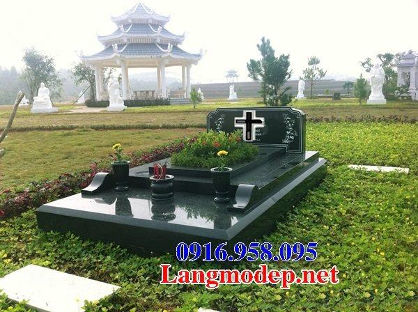 Mẫu lăng mộ của người theo đạo công giáo đẹp 04