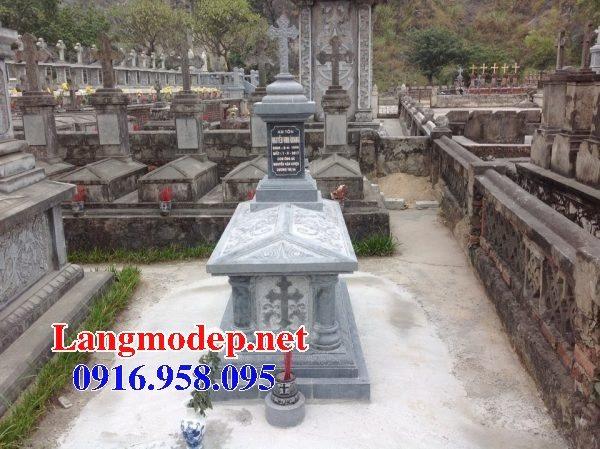 Mẫu lăng mộ của người theo đạo công giáo đẹp 05