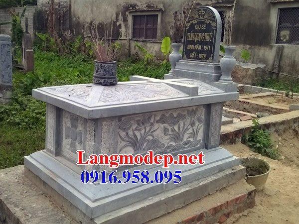 Mẫu lăng mộ của người theo đạo công giáo đẹp 07