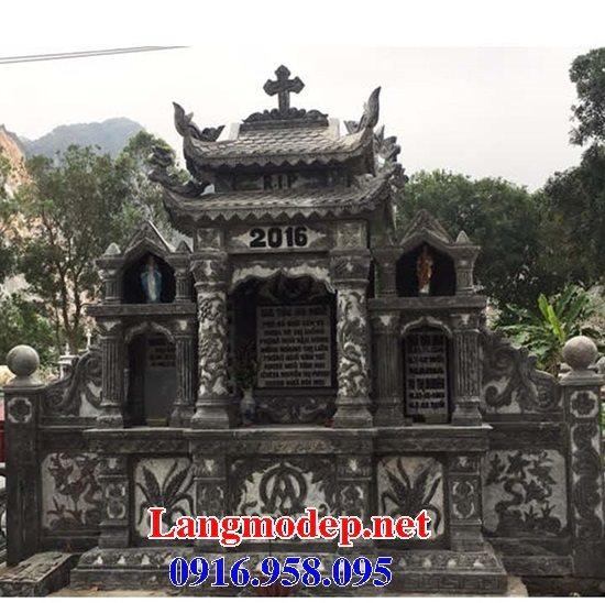 Mẫu lăng mộ của người theo đạo công giáo đẹp 08