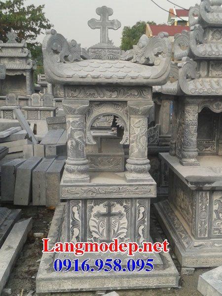 Mẫu lăng mộ của người theo đạo công giáo đẹp 09