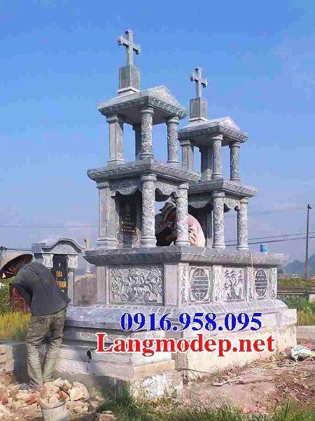 Mẫu lăng mộ của người theo đạo công giáo đẹp 10