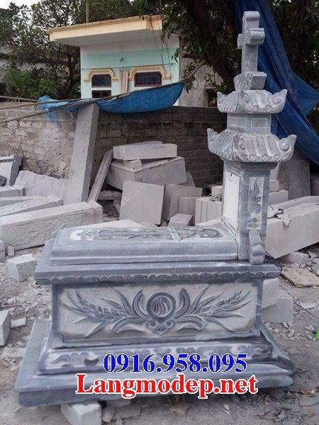Mẫu lăng mộ của người theo đạo công giáo đẹp 11