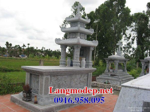 Mẫu lăng mộ của người theo đạo công giáo đẹp 13