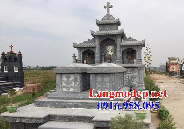 Mẫu lăng mộ của người theo đạo công giáo đẹp 14