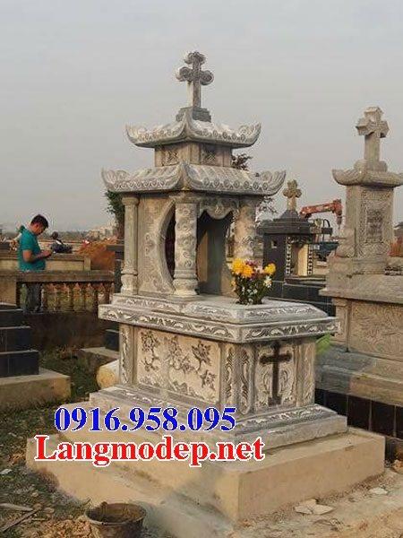Mẫu lăng mộ của người theo đạo công giáo đẹp 16
