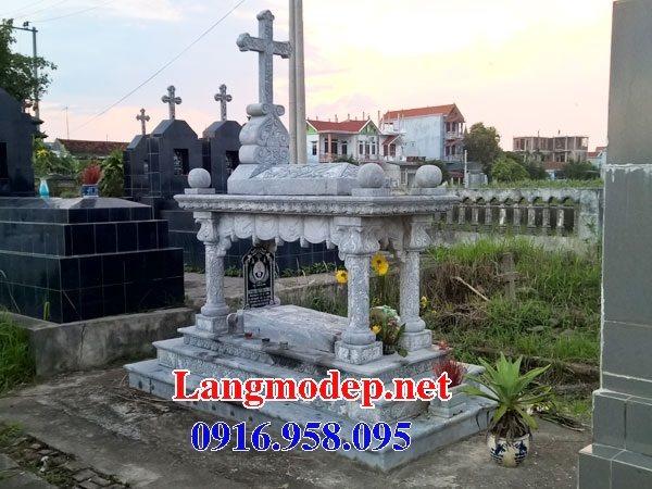Mẫu lăng mộ của người theo đạo công giáo đẹp 17