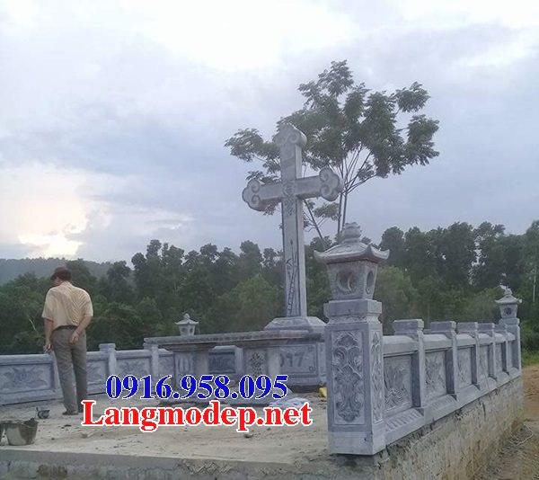 Mẫu lăng mộ của người theo đạo công giáo đẹp 19