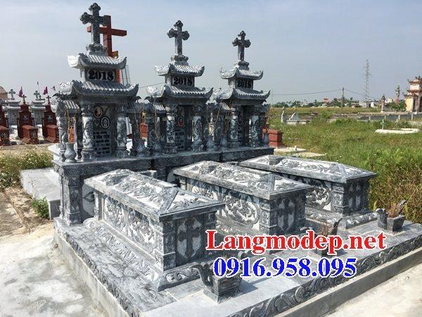 Mẫu mộ của người theo công giáo bằng đá đẹp 02
