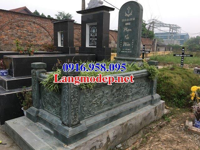Mẫu mộ của người theo công giáo bằng đá đẹp 07