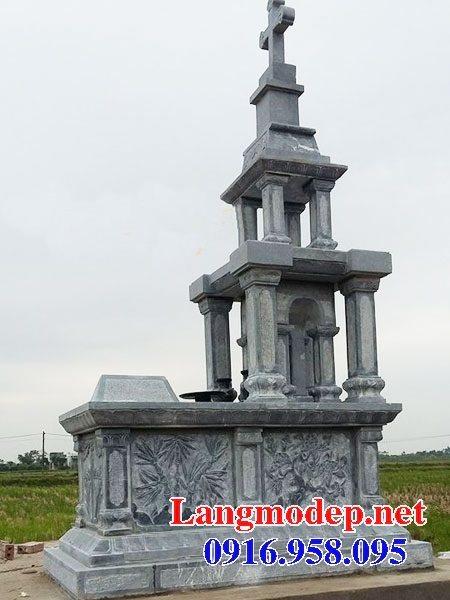 Mẫu mộ của người theo công giáo bằng đá đẹp 08