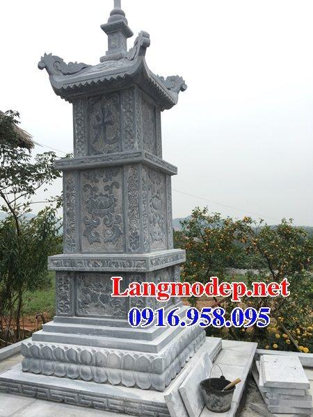 Mẫu mộ tháp bằng đá đẹp bán toàn quốc 02