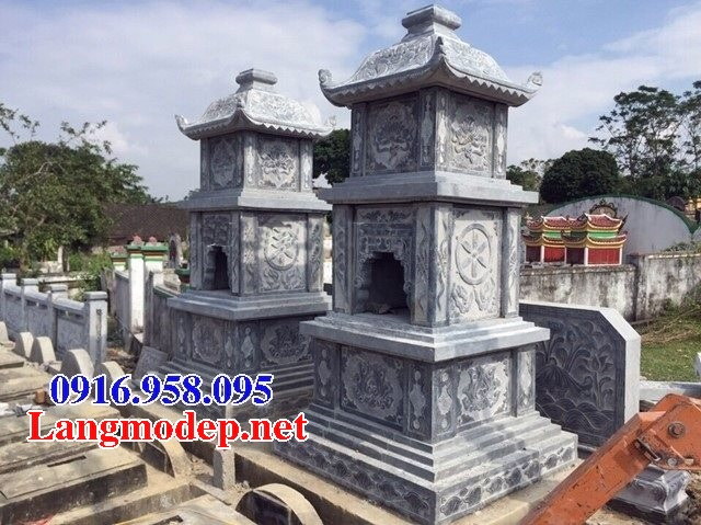 Mẫu mộ tháp bằng đá đẹp bán toàn quốc 03