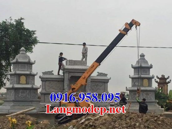 Mẫu mộ tháp bằng đá đẹp bán toàn quốc 05
