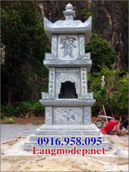 Mẫu mộ tháp bằng đá đẹp bán toàn quốc 06