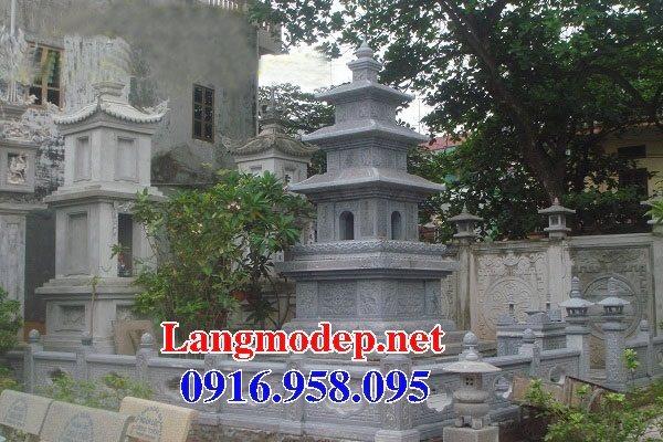 Mẫu mộ tháp bằng đá đẹp bán toàn quốc 08