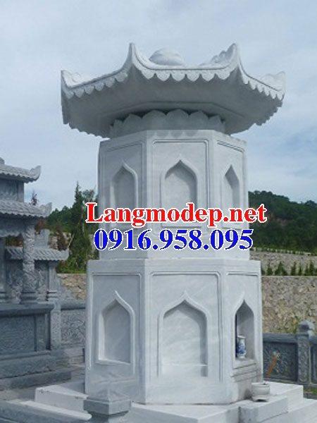 Mẫu mộ tháp bằng đá đẹp bán toàn quốc 09