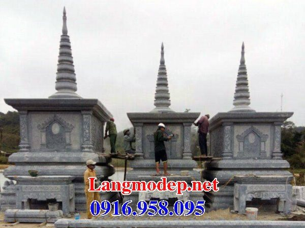 Mẫu mộ tháp bằng đá đẹp bán toàn quốc 11