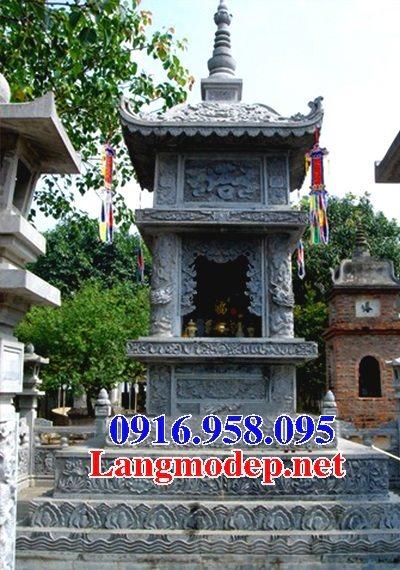 Mẫu mộ tháp bằng đá đẹp bán toàn quốc 12