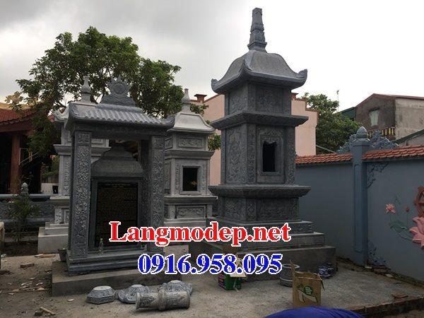 Mẫu mộ tháp bằng đá đẹp bán toàn quốc 14
