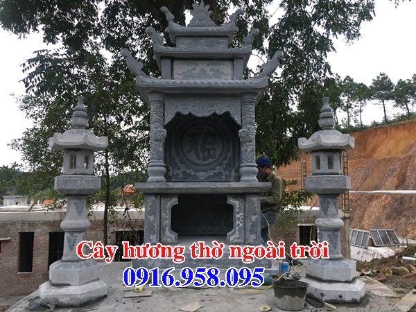 Mẫu miếu thờ quan thần linh nghĩa trang gia đình