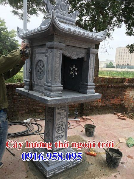 Mẫu miếu thờ quan thần linh nghĩa trang gia đình 03
