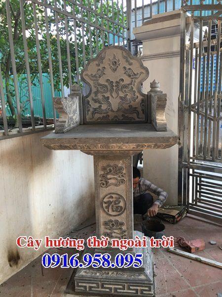 Mẫu miếu thờ quan thần linh nghĩa trang gia đình 05