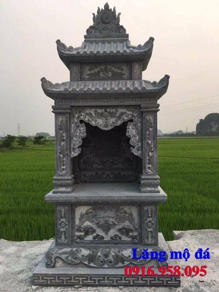 Mẫu miếu thờ quan thần linh nghĩa trang gia đình 07