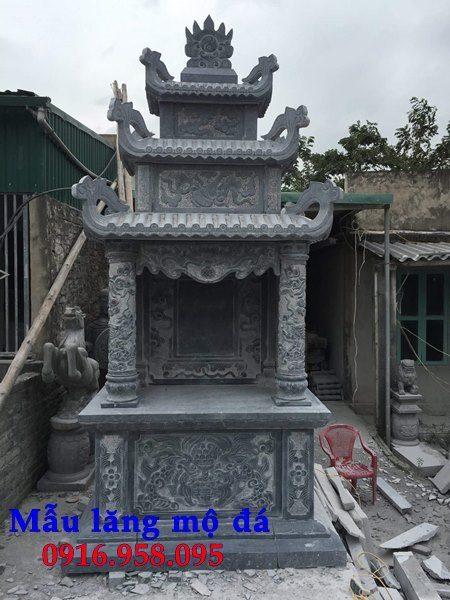 Mẫu miếu thờ quan thần linh nghĩa trang gia đình 09