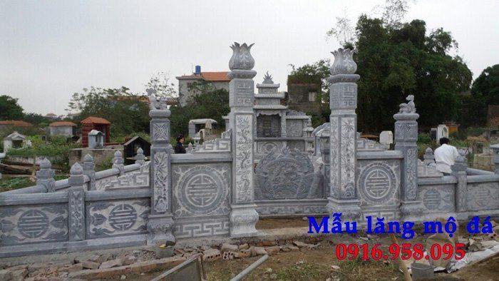 100 Mẫu khu lăng mộ đá xanh đẹp nhất 103