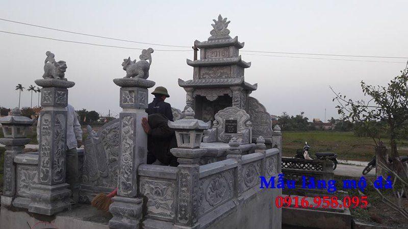 100 Mẫu khu lăng mộ đá xanh đẹp nhất 106