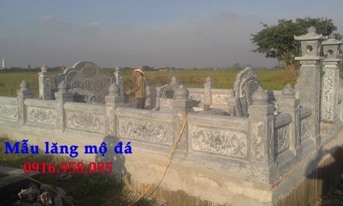 100 Mẫu khu lăng mộ đá xanh đẹp nhất 109