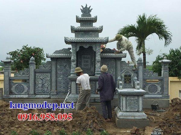 100 Mẫu khu lăng mộ đá xanh đẹp nhất 112