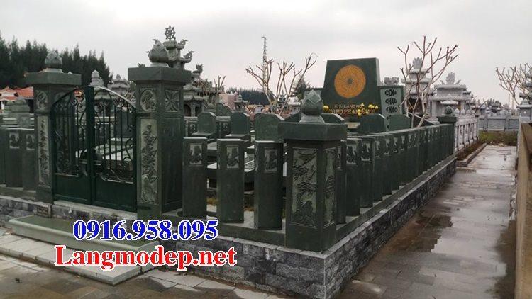 100 Mẫu khu lăng mộ đá xanh đẹp nhất 117