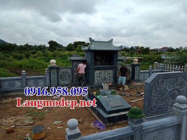 100 Mẫu khu lăng mộ đá xanh đẹp nhất 119