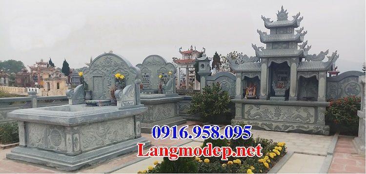 100 Mẫu khu lăng mộ đá xanh đẹp nhất 120